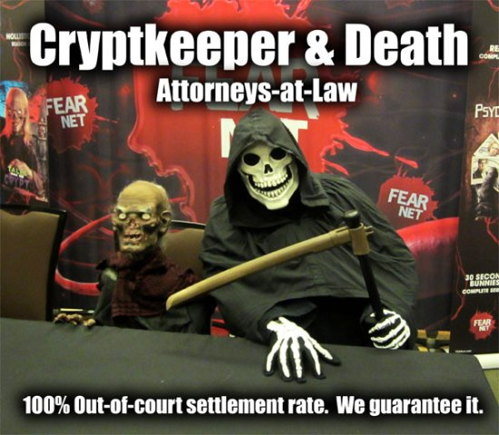 Cryptkeeper And Death