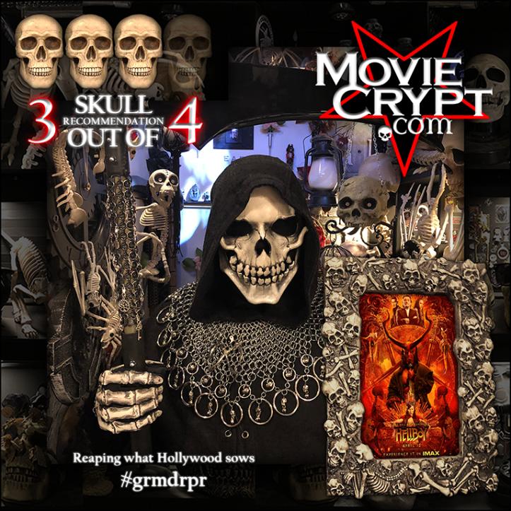 Hellboy 2019 MovieCrypt.com review